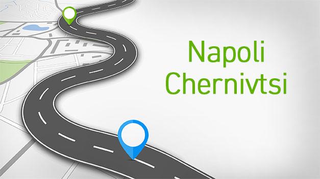Napoli - Chernivtsi